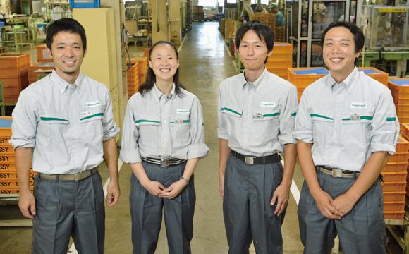 Departamento Ingeniería de Producción: Kohei Kurosaki , Reiko Tsukano , Yoshihiro Oka, Norikazu Yamaura