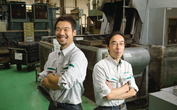 Sección Tratamiento del metal: Kazuki Usami, Shinji Tsuchiya