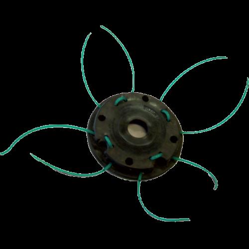 Desbrozadoras-Cabezales nailon-8H Multihilos ECHO Cabezal manual